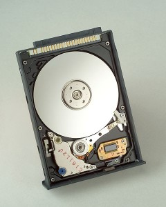 Electroless nickel hard drive