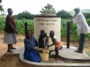 NiTEC sponsor water well