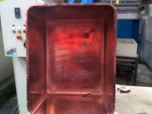 copper plated incubator