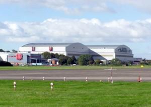 Airbus site Filton Bristol