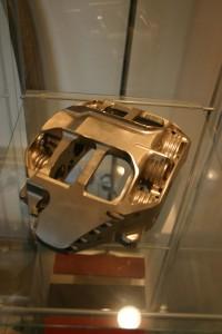 nickel plated brake caliper