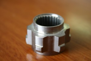 electroless nickel plated component
