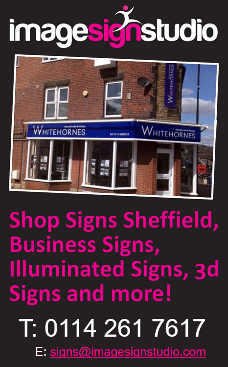 Business shop signs and shop frontage Sheffield